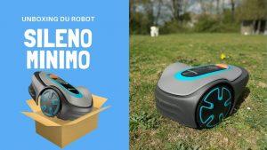 ROBOT GARDENA SILENO MINIMO 300 : Unboxing / Déballage
