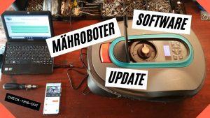 Mähroboter Software Update ( Sileno ).